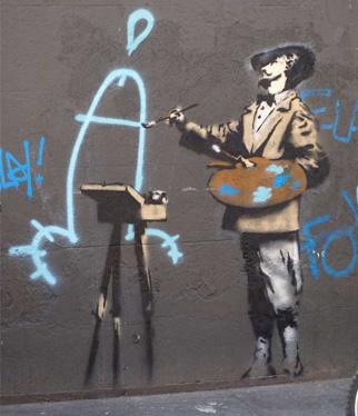 Графити от Банкси (2)