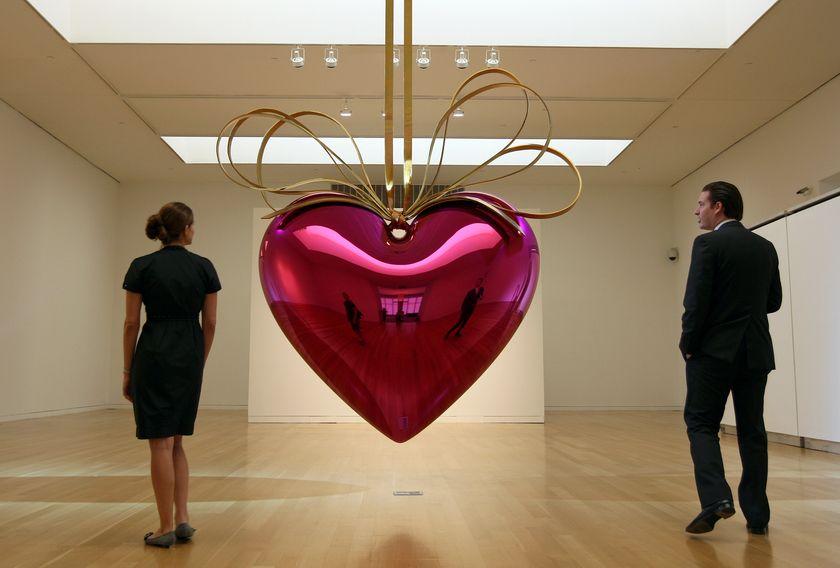 Висящото сърце на Джеф Кунс