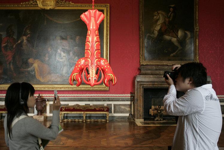 Кич във Версай от Джеф Куунс