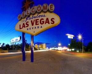 Лицето на табелата на Лас Вегас