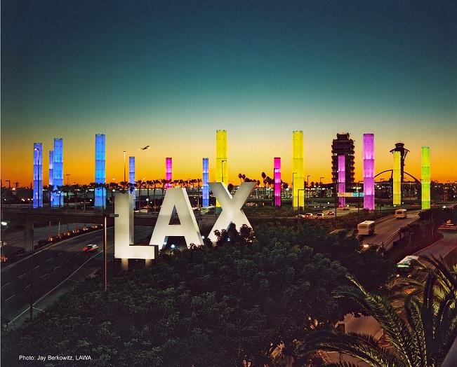 Легендарни табели по света - Светещи обемни букви LAX