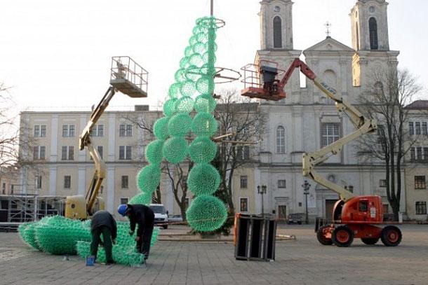 Ехо елха от рециклирани бутилки Спрайт в защита на природата (4)