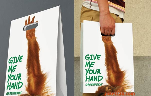Дизай на рекламна торбичка hands