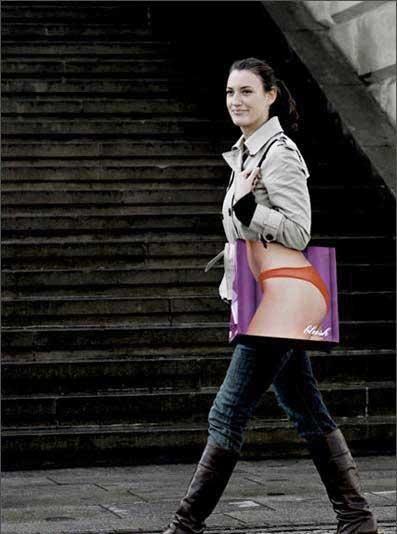 Дизай на рекламна торбичка за бельо