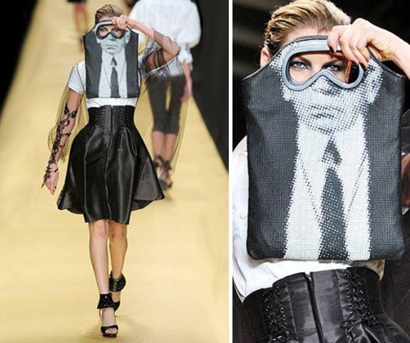 Дизай на рекламна торбичка тип маска