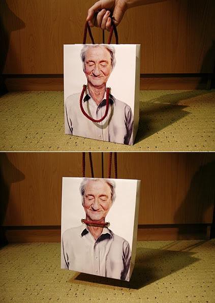Дизай на интересна рекламна торбичка