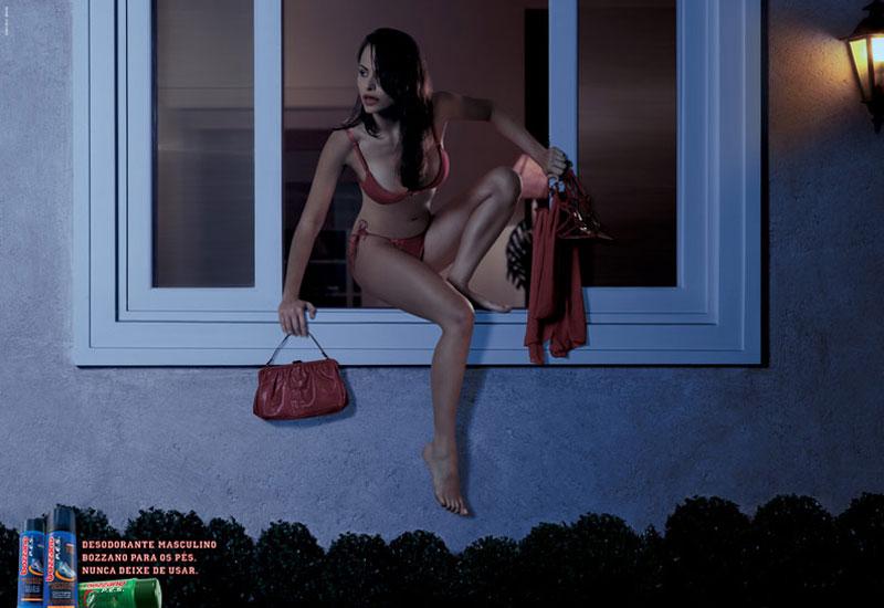 Секси печатна реклама 17