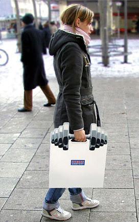 Дизай на рекламна торбичка fitness 2