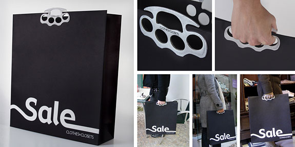 Дизай на рекламна торбичка Knuckle