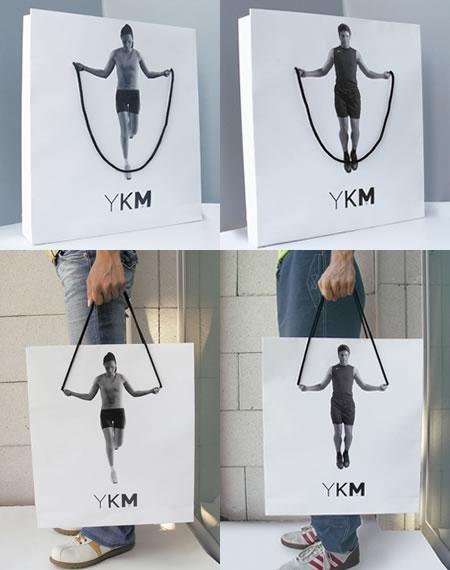 Дизай на рекламна торбичка YKM