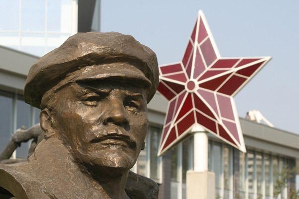 Изкуството на пропагандата - червената звезда -символ на комунистическто движение (2)