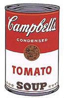 Анди Уорхол - дизайн на кутия за доматено пюре