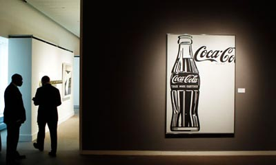 Анди Уорхол - дизайн на Кока кола