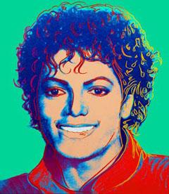 Портрет на Майкъл Джексън от Анди Уорхол