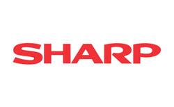 Лого на световноизвестна фирма с наименование SHARP