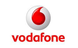 Лого на световноизвестна фирма с наименование Vodafone