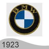 Еволюция на логото - проектиране на второто лого на BMW от 1923 година