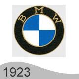 Еволюция на логото - проектиране на логото на BMW от 1923 година