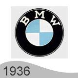 Еволюция на логото - проектиране на логото на BMW от 1936 година