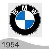 Еволюция на логото - проектиране на логото на BMW от 1954 година
