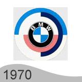 Еволюция на логото - проектиране на логото на BMW от 1970 година