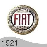 Еволюция на логото - проектиране на логото на Fiat от 1921 година