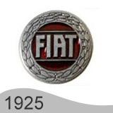 Еволюция на логото - проектиране на логото на Fiat от 1925 година