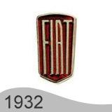 Еволюция на логото - проектиране на логото на Fiat от 1932 година