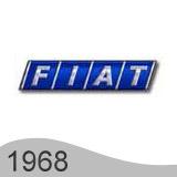 Еволюция на логото - проектиране на логото на Fiat от 1968 година
