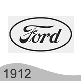 Еволюция на логото - проектиране на второто лого на Ford от 1912 година