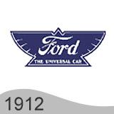 Еволюция на логото - проектиране на логото на Ford от 1912 година