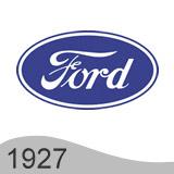 Еволюция на логото - проектиране на логото на Ford от 1927 година
