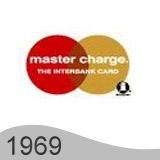 Еволюция на логото - проектиране на логото на Mastercard от 1969