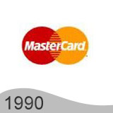 Еволюция на логото - проектиране на логото на Mastercard от 1990