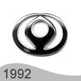 Еволюция на логото - дизайн на логото на Мазда от 1992 година