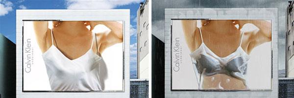Креативни реклами за билборд - Дизайн на билборд Келвин Клайн (2)