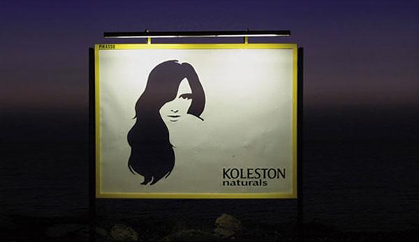 Дизайн на креативна билборд реклама - Koleston Naturals (3)