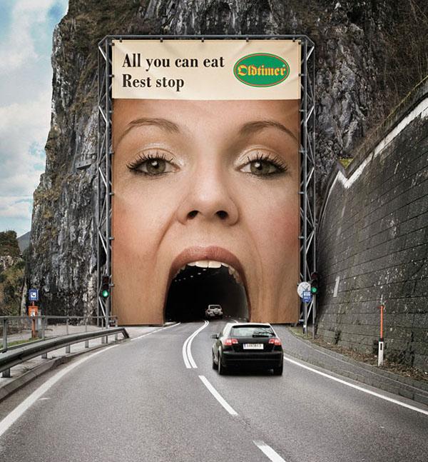 Рекламен билборд oldtimer