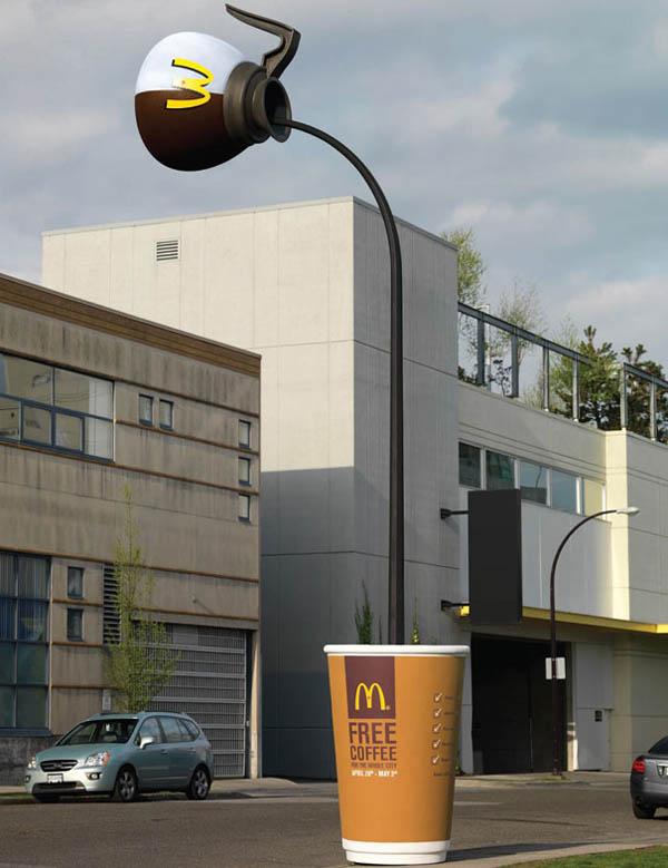 Интересни реклами - реклама McCafe