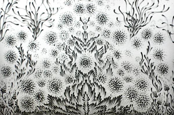 Чудновати и интересни картини, нарисувани с пръсти от Джудит Браун (7)