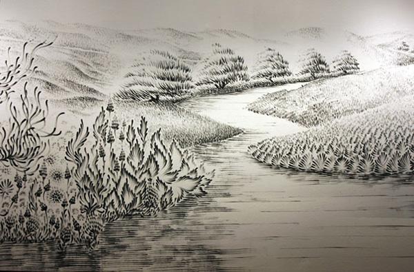 Чудновати и интересни картини, нарисувани с пръсти от Джудит Браун (6)