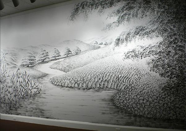 Чудновати и интересни картини, нарисувани с пръсти от Джудит Браун (5)