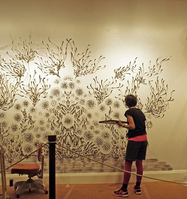 Чудновати и интересни картини, нарисувани с пръсти от Джудит Браун (4)