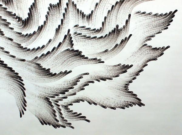 Чудновати и интересни картини, нарисувани с пръсти от Джудит Браун (2)