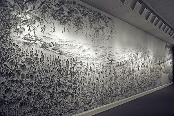 Чудновати и интересни картини, нарисувани с пръсти от Джудит Браун (9)