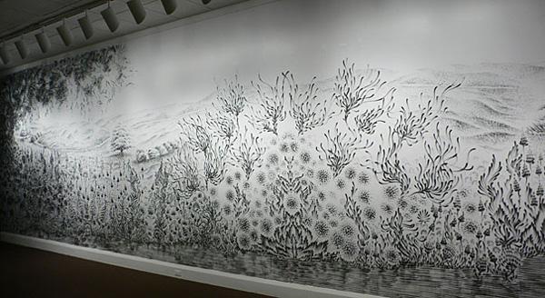 Чудновати и интересни картини, нарисувани с пръсти от Джудит Браун (8)