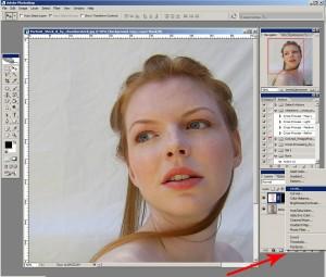 Photoshop урок: Levels върху новия слой