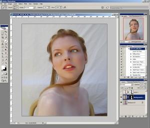 Порцеланова кожа. Photoshop урок по дизайн.