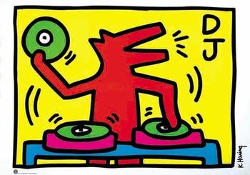 Кийт Харинг, диско рисунка
