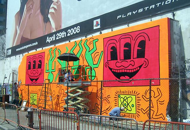 Улично изкуство, Кийт Харинг - художник